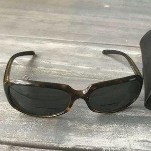 Ray Ban Sunglasses RB 4131 Tortoise Rectangle Brow